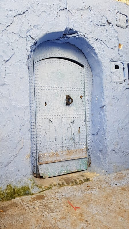 Things to do in Chefchaouan in Morocco - Blue city doors