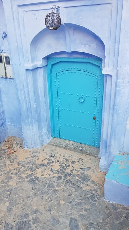 Things to see in Chefchaouan in Morocco - Blue doors