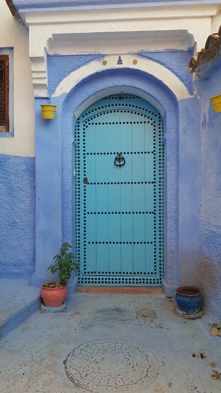 Chefchaouan Morocco: Blue doors