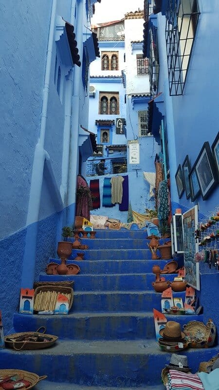 Chefchaouan Morocco: Meandering alleyways
