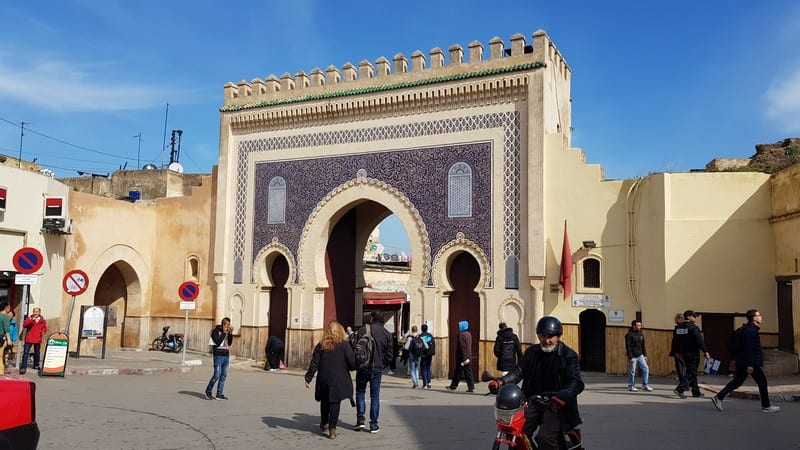 Fes Medina - The Blue Gate