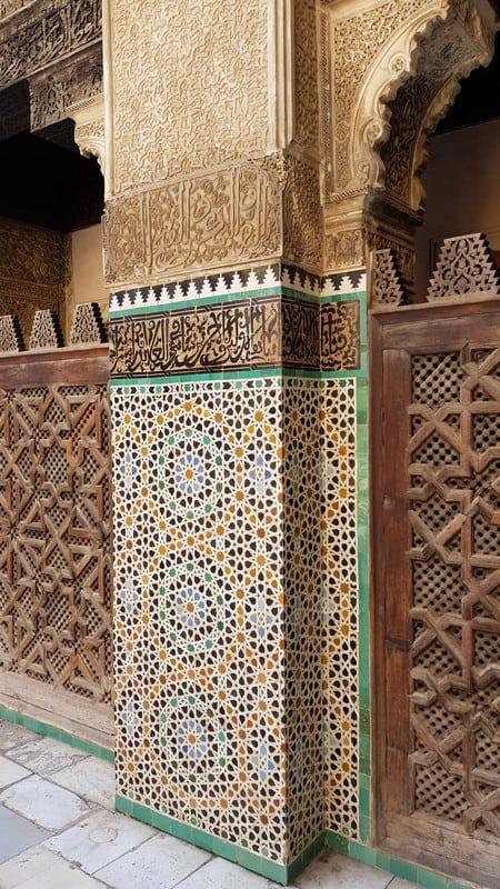 Tour of Fes, Morocco: Mosaics