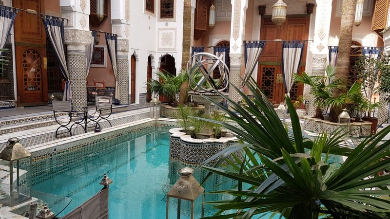 Tour of Fes, Morocco: Peaceful Riad