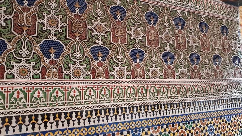 Fes Medina - Mosaics