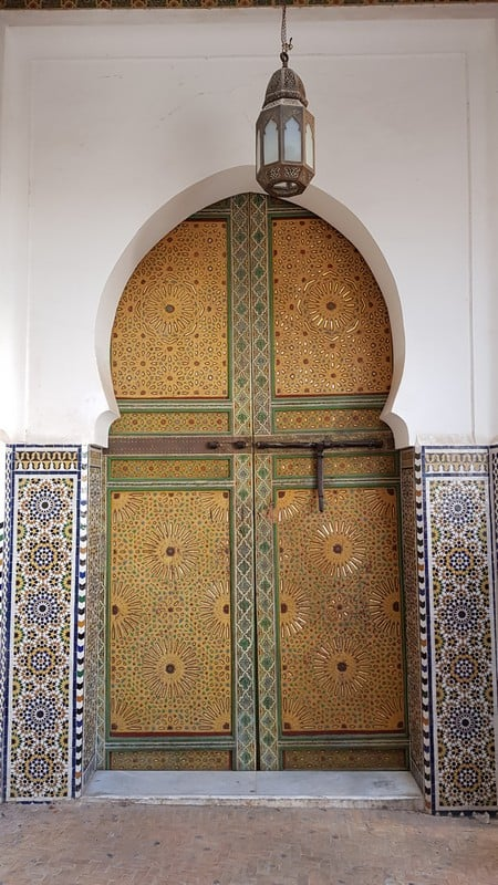Tour of Fes medina: More doors