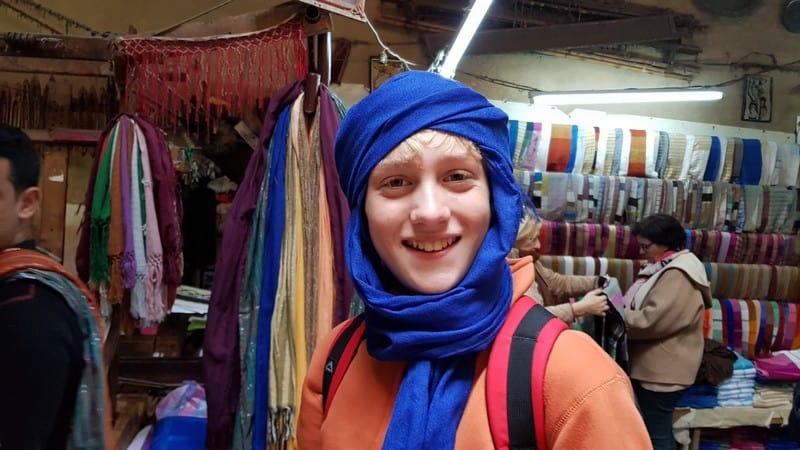 Fes Medina - Berber Boy