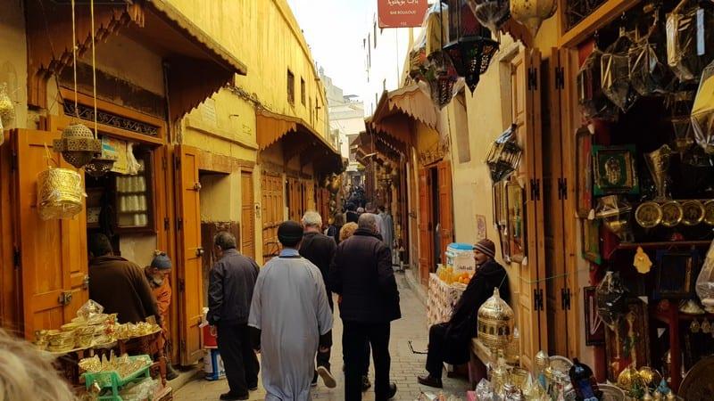 Fes Medina - alleyways