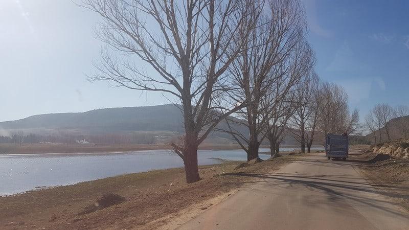 Stunning scenery: lakes