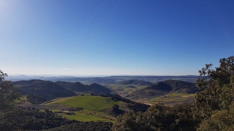 Stunning scenery: mountains