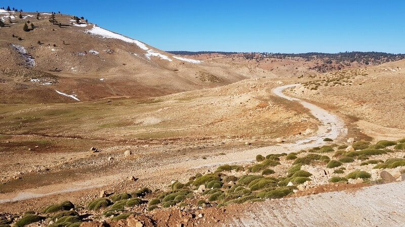 Middle Atlas to High Atlas Mountains: dramatic scenery