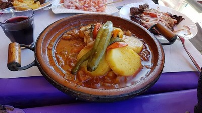 Middle Atlas to High Atlas: Tagine