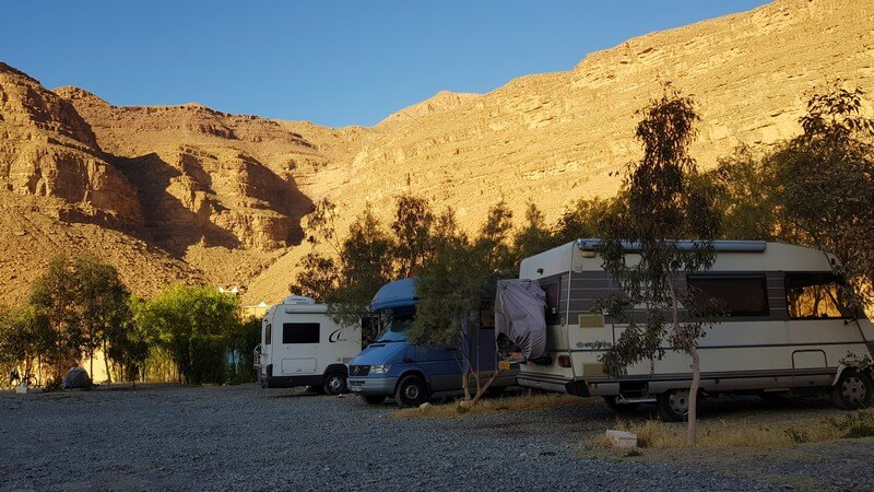 Middle Atlas to High Atlas Mountains: Camping Jurassique