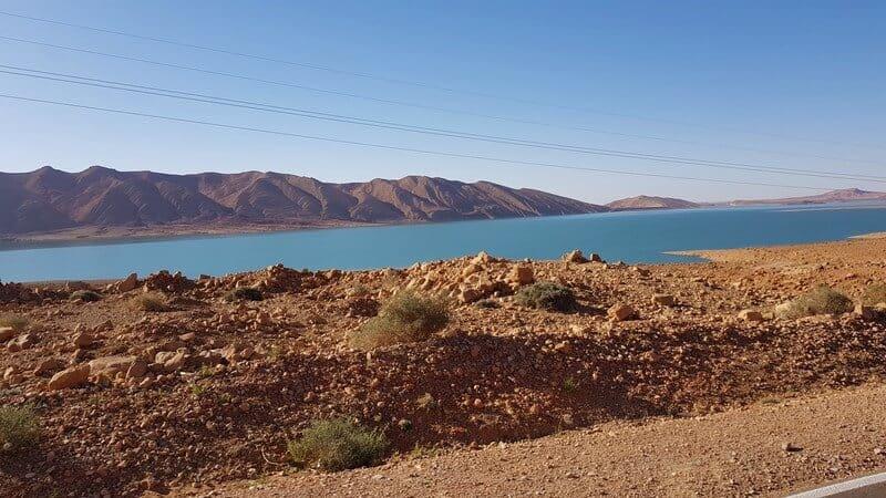 Ziz Gorge: Reservoir du barrage Al-Hassan Addakhil