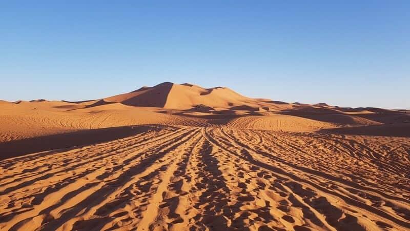 Merzouga Morocco: sand dunes