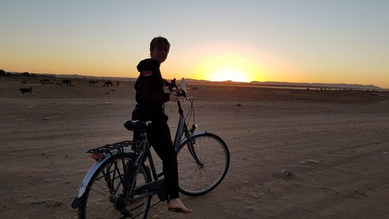 Merzouga Morocco: Desert sunsets
