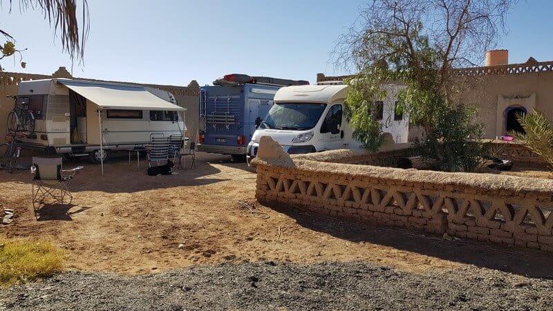 Merzouga Morocco: La Gazelle bleu campsite