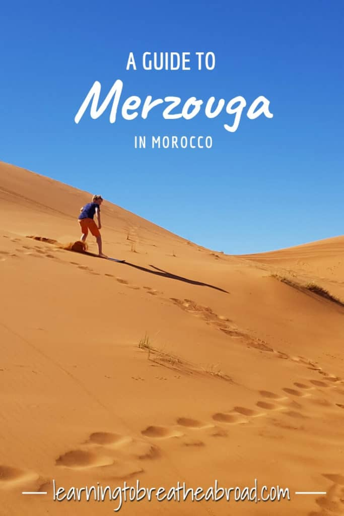 A guide to Merzouga in Morocco