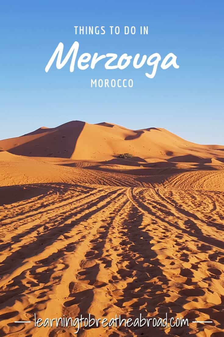 Things to do in Merzouga in Morocco