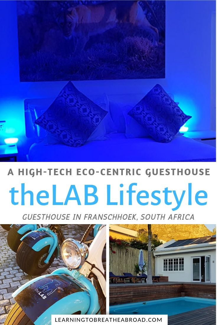 theLAB Lifestyle Franschhoek Guesthouse