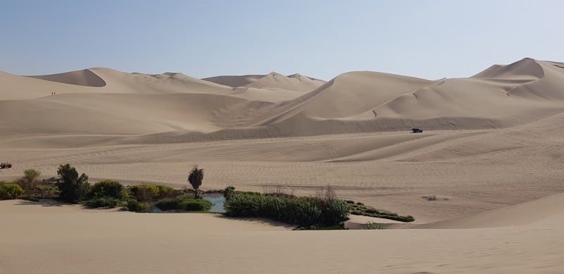 Huacachina - oasis in the desert