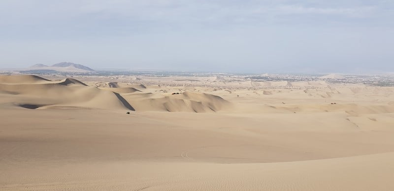 Sand dunes of Huacachina