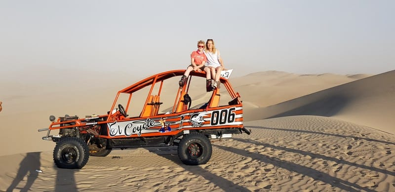 Dune buggy rides in Huacachina Peru