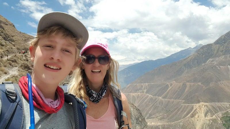 Colca Canyon selfie