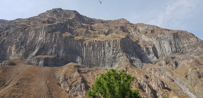 Colca Canyon cathedral wall