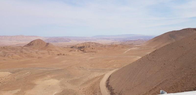 Tacna in Peru to Arica in Chile