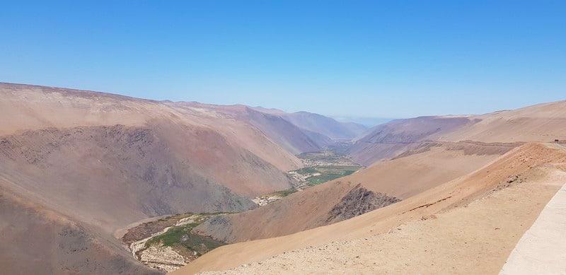 Roadtrip from Arica to Pozo Almonte in Chile's Atacama Desert