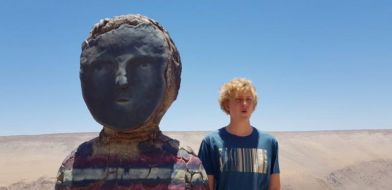 Statues in Atacama