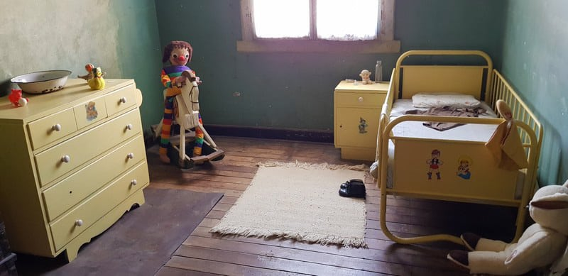 Child's Room at Humberstone ghost town