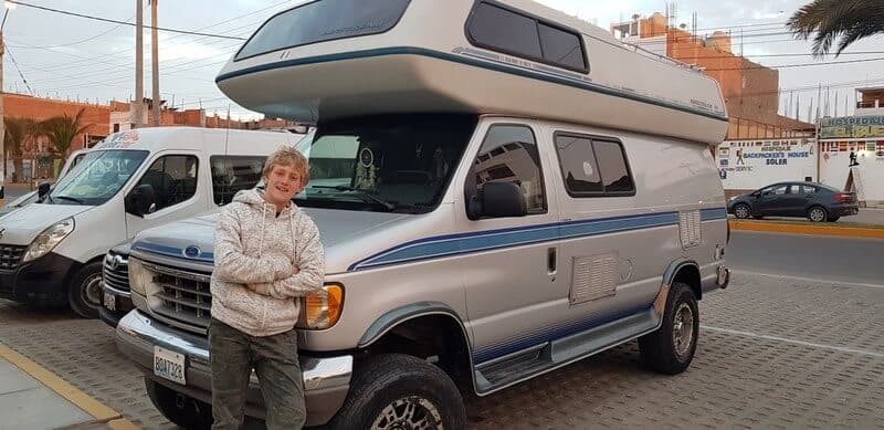 Thor our campervan