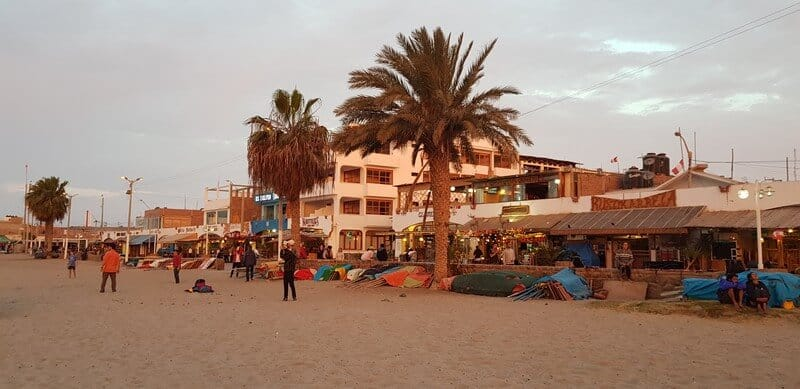 Paracas seaside town