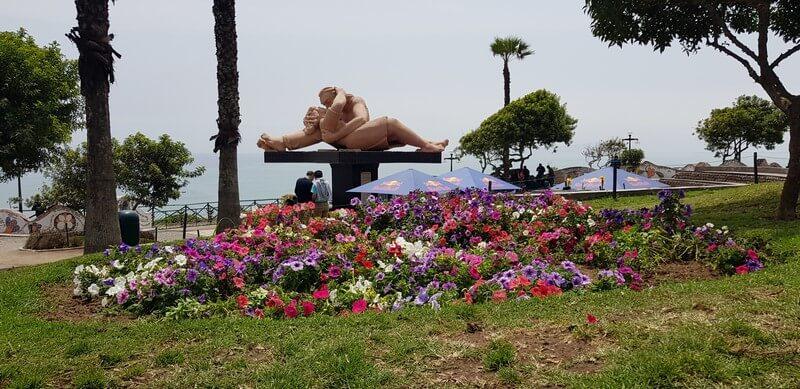 Parque de Amor - Park of Love in Lima Peru