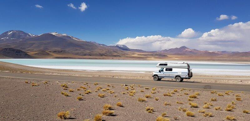 Lake Tuyaito in San Pedro de Atacama