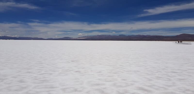 Salinas Grande in Northern Argentina