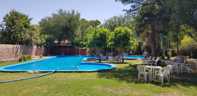 Los Olivos Camping swimming pool