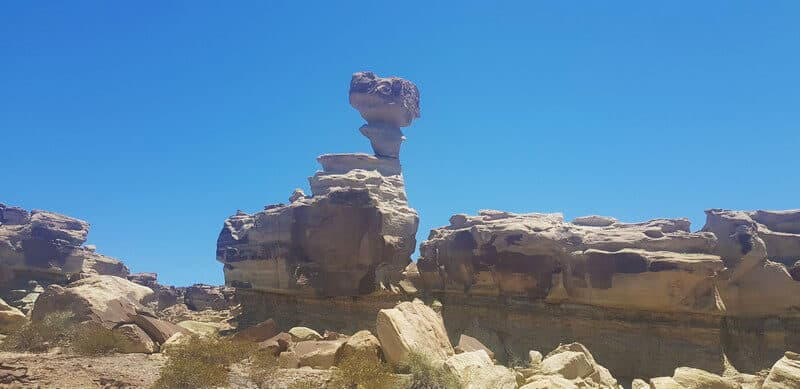 The Submarine at Ischigualasto National Park