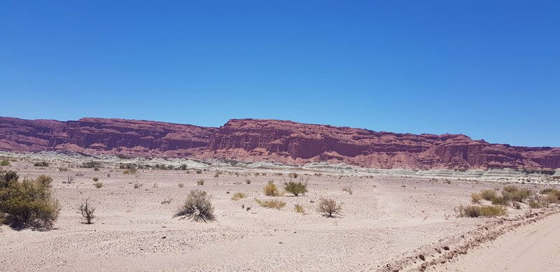 The Red Canyon at Ischigualasto National Park