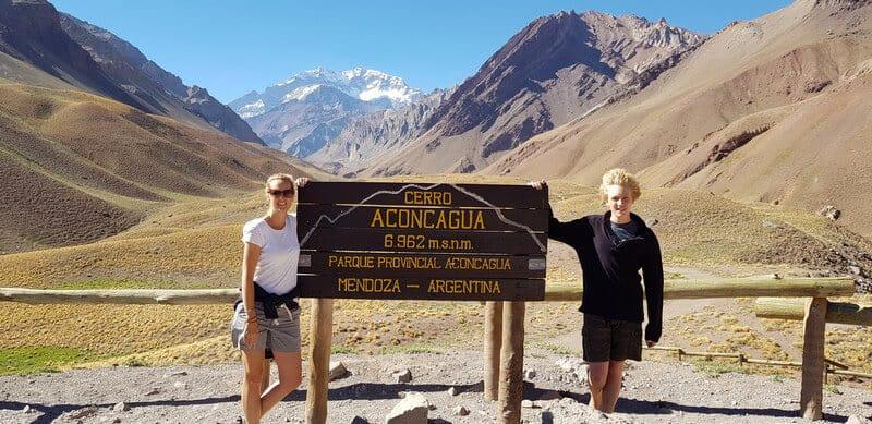 Aconcagua Peak in Argentina