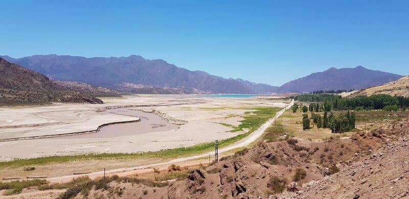 Potrerillos Dam in Argentina