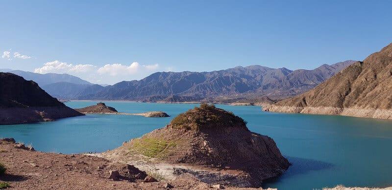 Potrerillos Dam in Mendoza