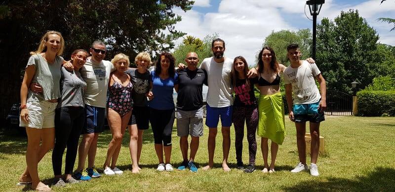 Emilio and his family