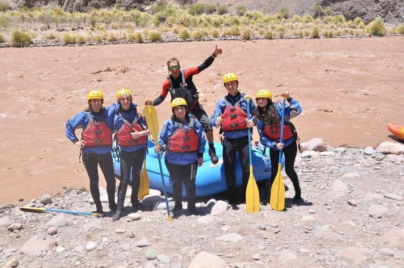 River Rafting on Mendoza River