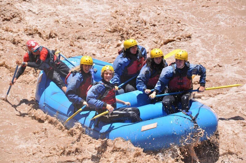River Rafting on Mendoza River in Argentina