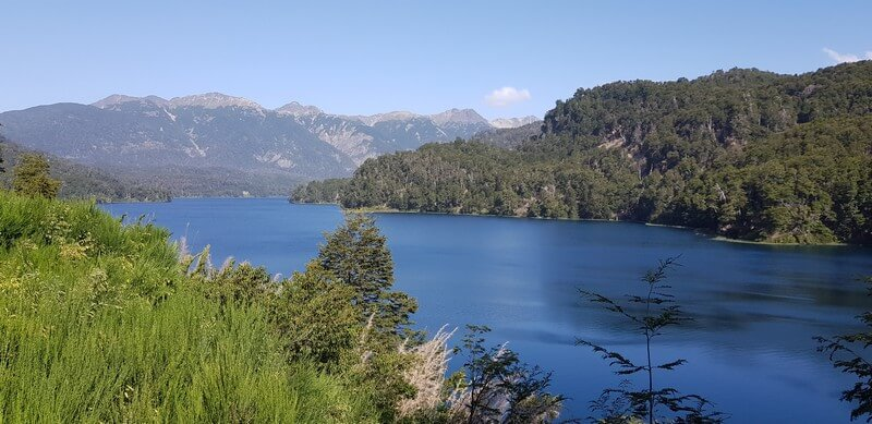 Seven Lakes Route in Argentina