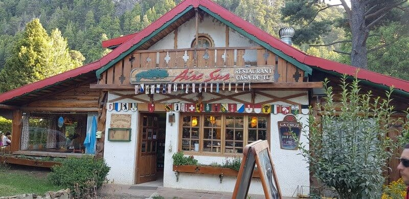 Swiss Restaurant in Colonia Suiza in Bariloche in Argentina