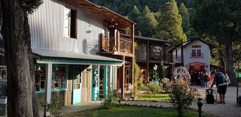 Colonia Suiza in Bariloche in Argentina