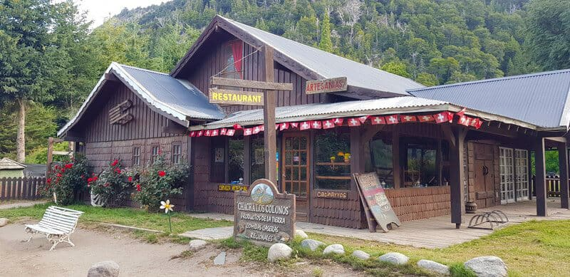 Swiss chalet in Colonia Suiza in Bariloche in Argentina